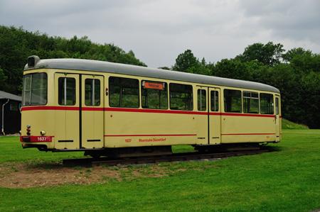 Rheinbahn Wagen in Kräwinklerbrücke