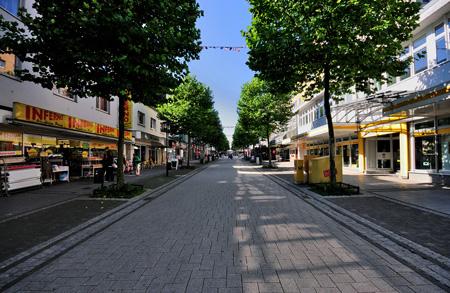 Untere Alleestraße Remscheid - verkehrsbefreit