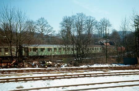 Ausfahrt aus Bf. Radevormwald-Krebsoege nach Kräwinklerbrücke