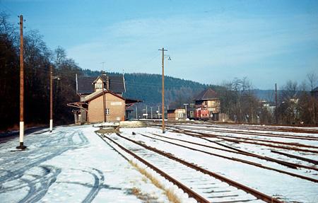 Bf. Radevormwald-Krebsoege im Winter 1971/72
