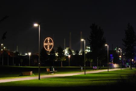 Bayerkreuz - Wahrzeichen Leverkusens