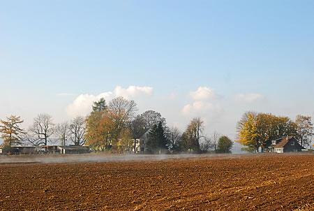 Brennende Felder Radevormwald Oberkarthausen