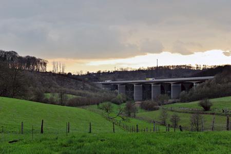 Gerhardts` StreetView, heute: Brücke Diepmannsbachtal Remscheid