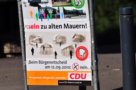 nein zu alten Mauern - CDU Radevormwald