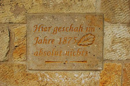 Dresden 1875: Hier geschah absolut nichts!