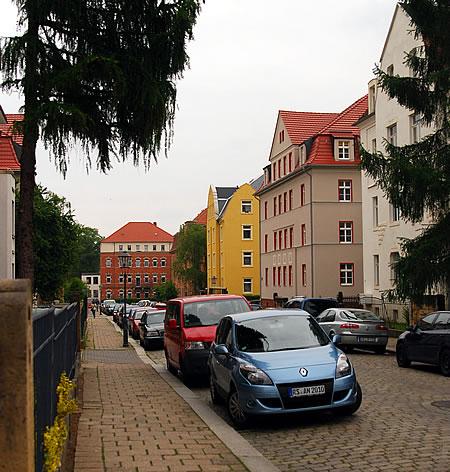 Straßenzug Dresden Löbtau