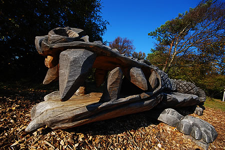 Krokodil auf dem Skovlegepladsen