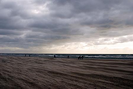 Gegen den Sturm - Sand fressen
