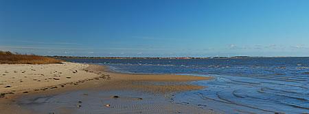 Panorama - Hafen Rindby - Fanö