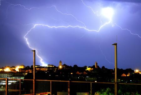 Gewitter Blitz