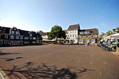 Innenstadt Radevormwald - Markplatz