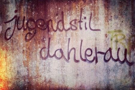 Jugendstil Dahlerau - und wie schreibst Du?