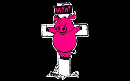 Wizo - Schwein am Kreuz