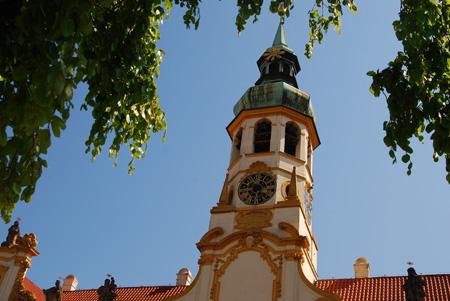Loreto-Monstranz im Burgviertel Prag