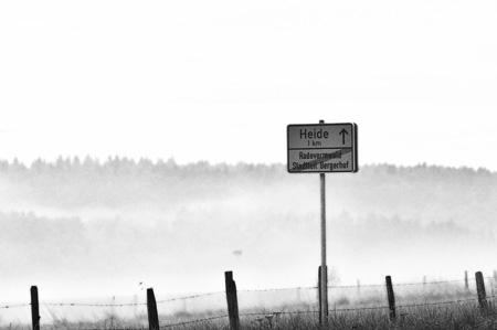 Hulverscheidt in Nebel gehüllt
