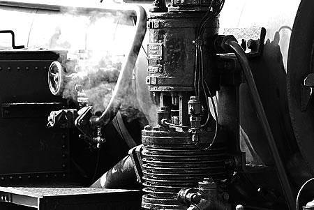 Speisepumpe Dampflok