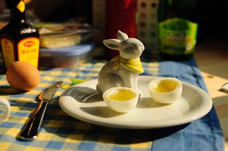 Ostern auf meinem Frühstückstisch