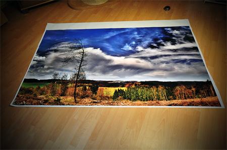 Stich Panorama Ennepetal auf 2x1,20m MACtac iMAGin gedruckt