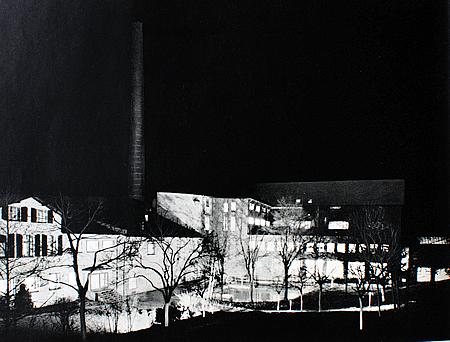 Die Papierfabrik in Wilhelmstal in seiner Blüte