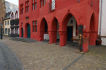 Pranger - vor dem Rathaus Bad Münstereifel