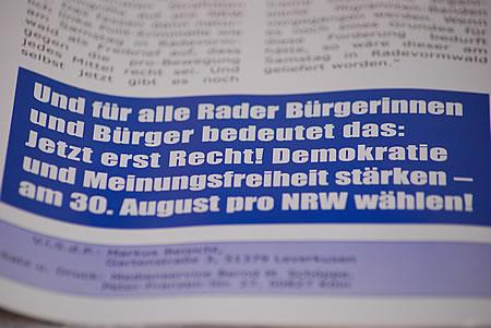 Demokratische Rechtspopulisten pro NRW?