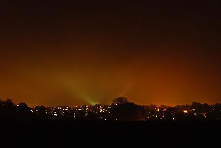 Radevormwald - die Stadt ist dunkel!