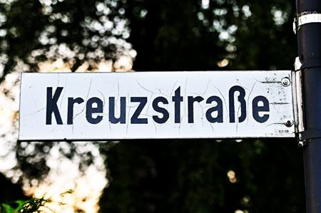 Kreuzstraße Radevormwald - jetzt wieder ohne Haken
