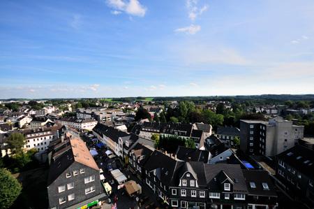 Luftaufnahme Innenstadt Radevormwald