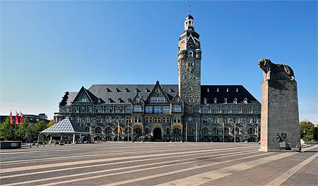 Rathaus Remscheid - in Frau Wilding ihm sein Block