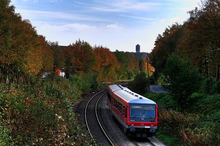 RB47 Einfahrt Remscheid Lüttringhausen