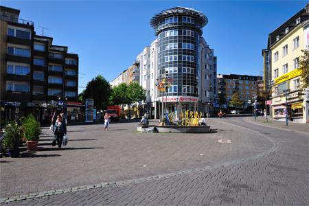 Remscheid Markt - Eingang zur unteren Alleestraße