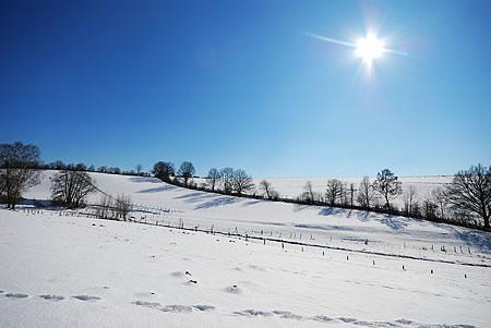 Winter im März - Richtung Ispingrade