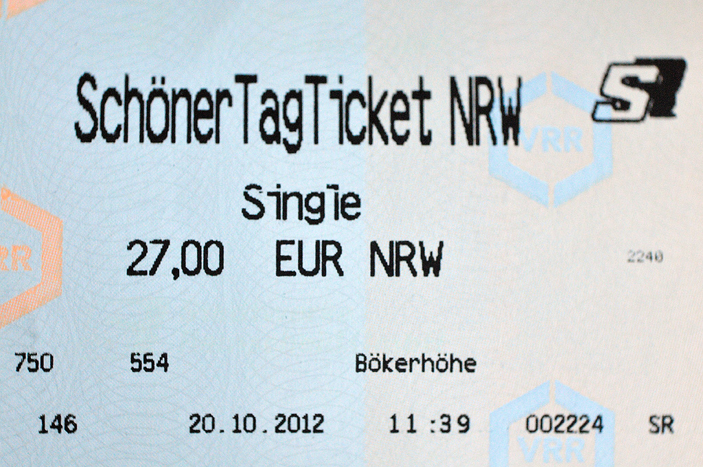 schoener tag ticket