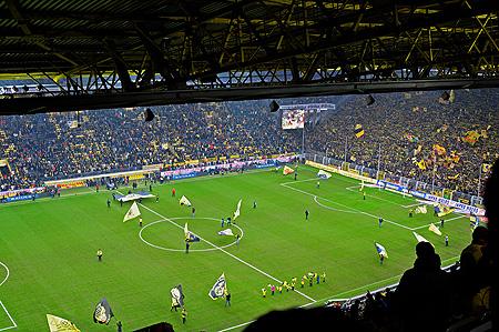 Signal Iduna Park: Dortmund - Stuttgart