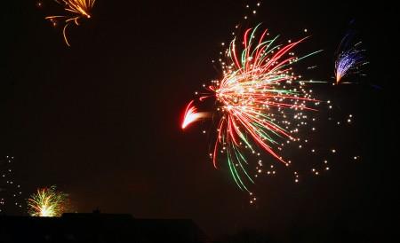 Silvester Feuerwerk 2011
