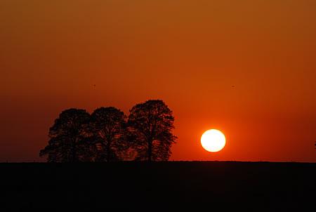 Sonnenuntergang Remscheid