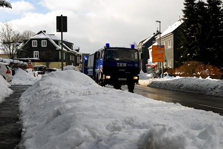 Katastrophenschutz im Schnee