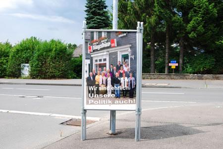 Mein Wahlwerbesieger zur Kommunalwahl Radevormwald: SPD!