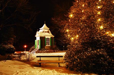 Radevormwald - Parc de Chateaubriant im Winter