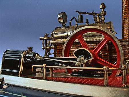 Wilesco D20 EL Dampfmaschine