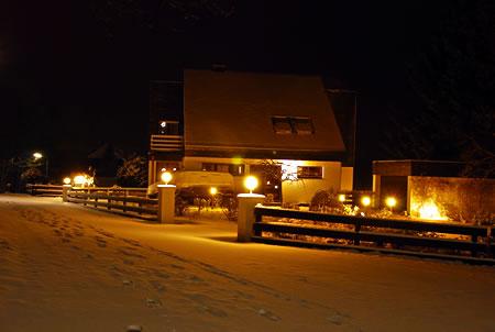 Wintereinbruch Bergisches Land