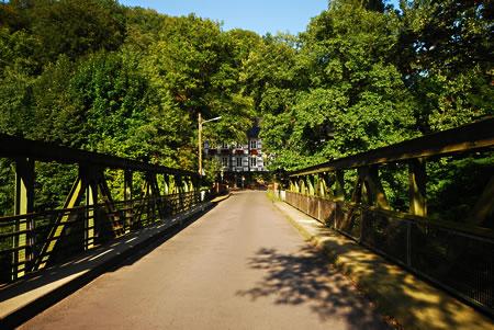Die sogenannte Wülfing-Brücke in Dahlerau