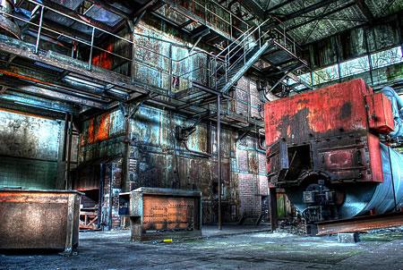 Verlassene Industrieanlage Radevormwald Dahlhausen