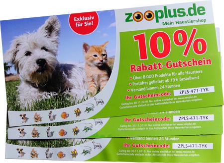 Zooplus Gutscheincodes
